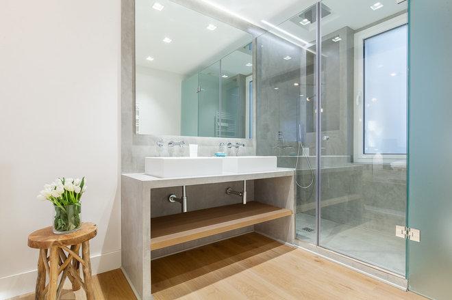 Contemporáneo Cuarto de baño by Luzestudio Fotografía