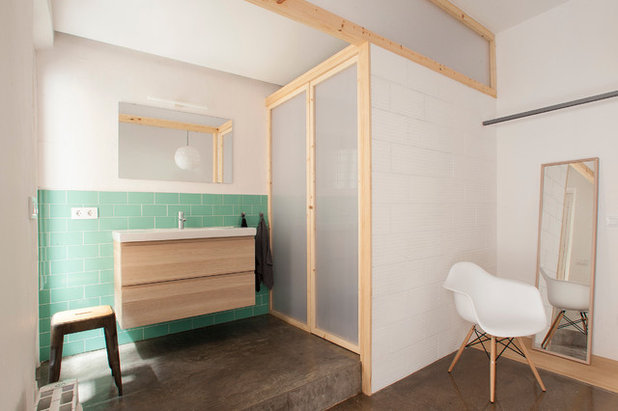 Skandinavisch Badezimmer by Nook Architects