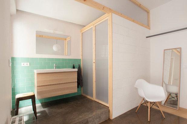 Nórdico Cuarto de baño by Nook Architects