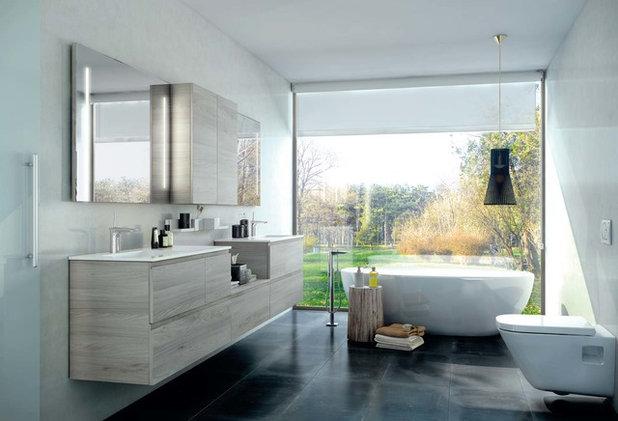Contemporáneo Cuarto de baño by UNIBAÑO