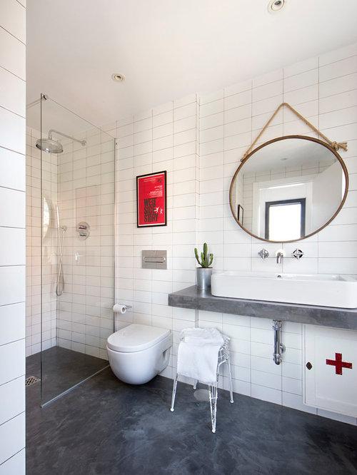 Fotos de cuartos de ba o dise os de cuartos de ba o cl sicos renovados con paredes blancas - Banos clasicos ...