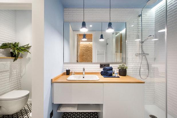 Средиземноморский Ванная комната by Egue y Seta