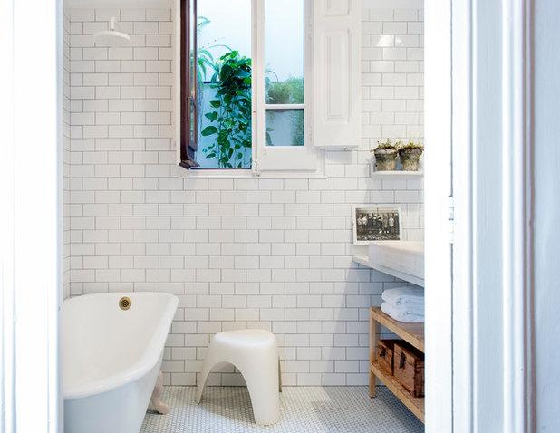 Retro Cuarto de baño by MIRIAM CASTELLS STUDIO
