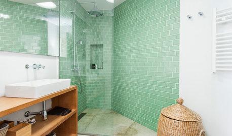 Baños de color verde: ¿Por qué nos gustan tanto?