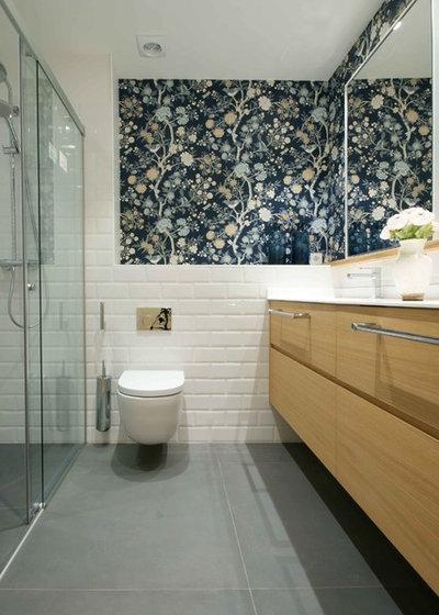 Contemporáneo Cuarto de baño by ARTECLIO INTERIORISMO