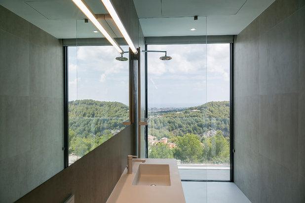 Modern Bathroom Vivienda Unifamiliar en Jávea