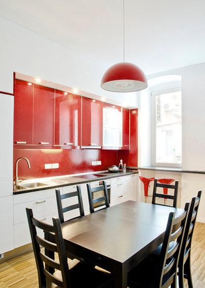 Contemporaneo Cucina by GPA \ Gabriele Pitacco Architetto