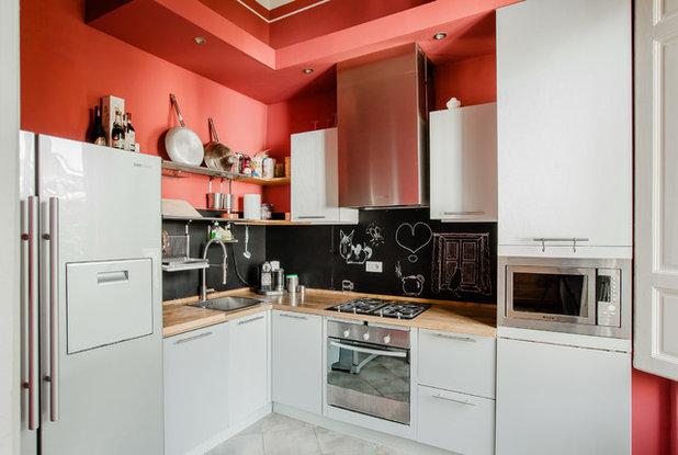 コンテンポラリー キッチン by Olga Makarova