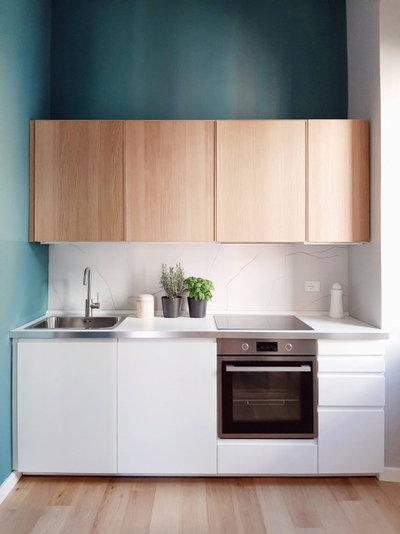 Современный Кухня by Dequipe Studio