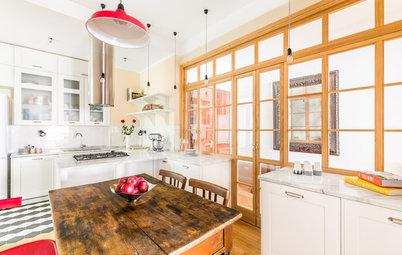 Prima e Dopo: Una Cucina Guadagna Molta Luce e Cambia Forma