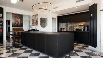 Appartamento con cucina open space | 160 MQ