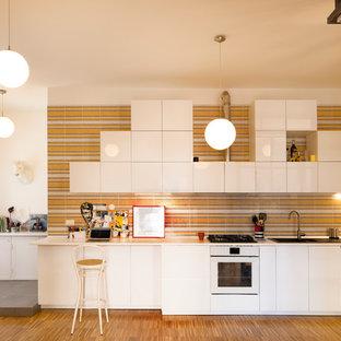 Ispirazione per una cucina contemporanea
