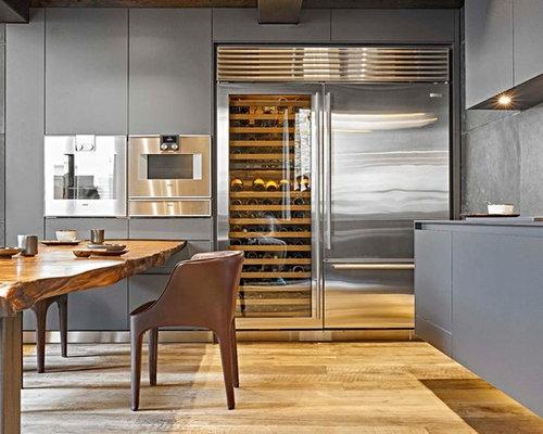 Cucine In Alluminio. Awesome Per La Massima Pulizia Del Design Le ...