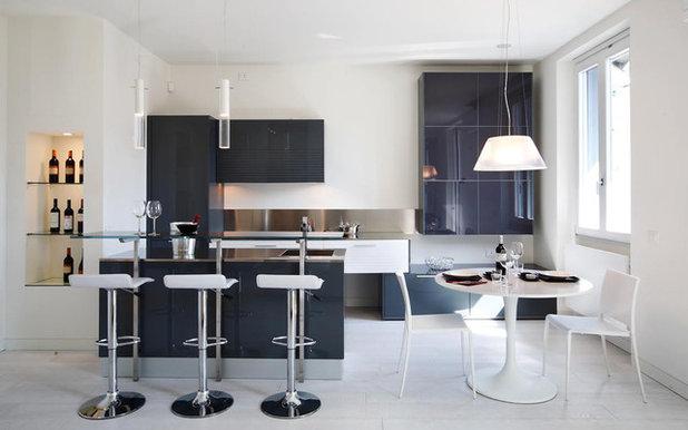 Gli sgabelli alti per il bancone bar della cucina - Bancone bar casa ...