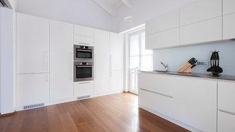 """Appartamento """"total white"""" su misura"""