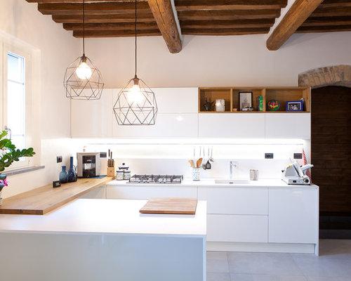 Cucina a U - Foto e Idee per Ristrutturare e Arredare