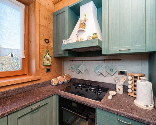 Piccola cucina in montagna foto e idee per arredare - Cucine di montagna ...