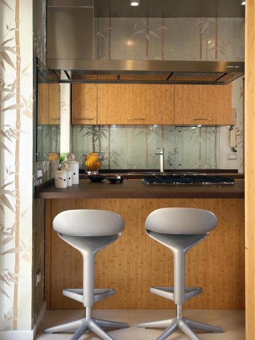 kolonialstil k chen mit glasr ckwand ideen design. Black Bedroom Furniture Sets. Home Design Ideas