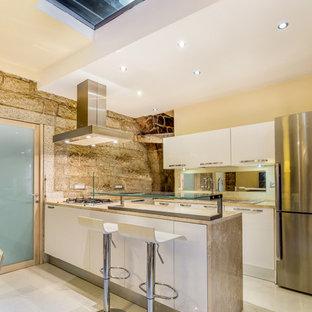 Cucina con pavimento in marmo - Foto e Idee per Ristrutturare e Arredare