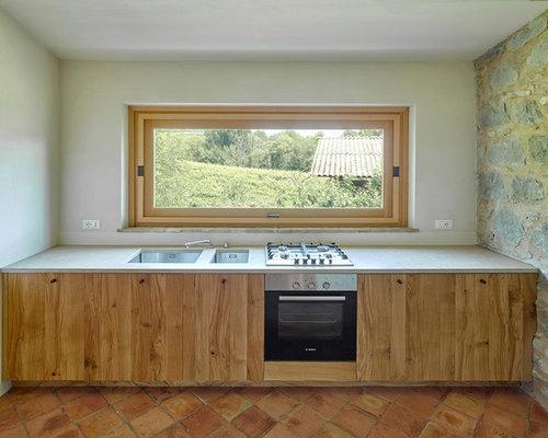 Cucina in montagna foto e idee per ristrutturare e arredare for Tre erre arredamenti