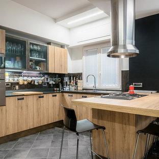 CASA DEL PIANISTA - Cucina Diesel Social Kitchen by Scavolini
