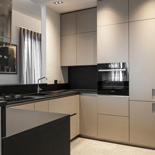 Cucina con pavimento in ardesia Milano - Foto e Idee per ...