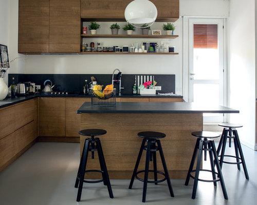 15,524 Kitchen with Black Backsplash Design Ideas ...