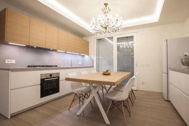 Contemporaneo Cucina by Studio Interior Designer Pierpaolo Saioni