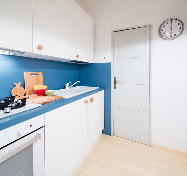 7 ideen f r farbakzente in der wei en k che. Black Bedroom Furniture Sets. Home Design Ideas