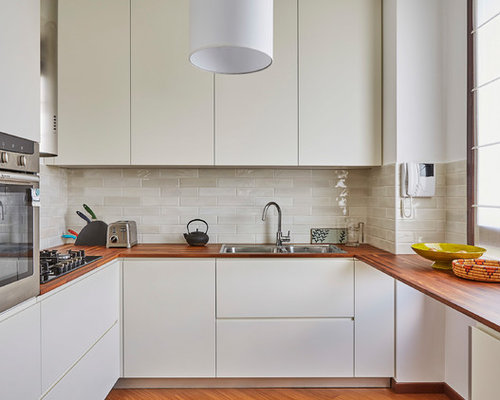 Cucina a U chiusa - Foto e Idee per Ristrutturare e Arredare
