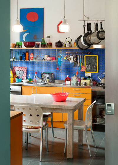 Eclectic Kitchen by tomdesign