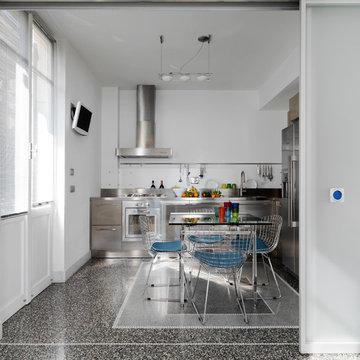 Casa: soluzioni hi-tech per interni anni '30  L'appartamento d'epoca cambia look