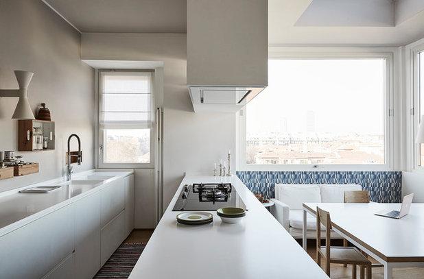Modern Küche by cecilia avogadro