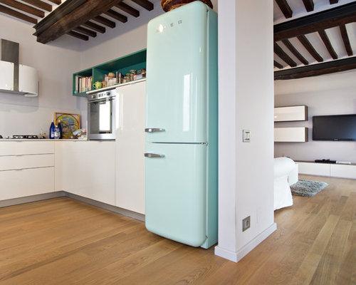 Idee e foto di cucine in campagna - Cucina sul terrazzo ...