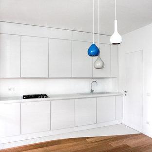 Esempio di una cucina minimal