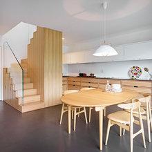 Houzz Tour: Her dominerer en genial trappe og dansk design