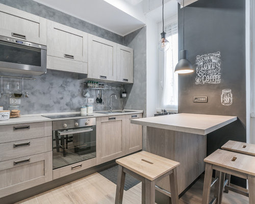 Kitchen with a Drop-In Sink Design Ideas & Remodel ...