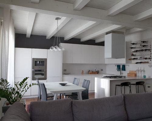 Cucina Moderna Total White in laccato opaco San Donà di piave -VENEZIA-
