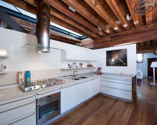 Foto e Idee per Cucine - cucina moderna chiusa
