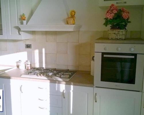 Cucina abitabile con top in laminato firenze foto e idee per