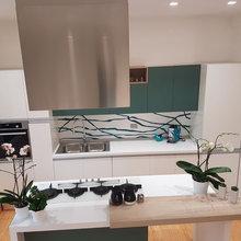 cucina moderna verde - Minimalistisch - Küche - Rom - von ...