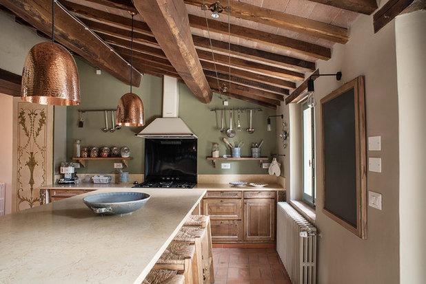カントリー キッチン by La Linea di Castello