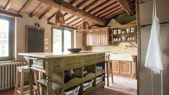 "Cucina padronale a ""Villa da Eva"""