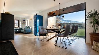 Cucina privata elegante e raffinata in cemento - Private Küche in Beton