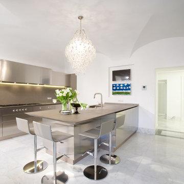 Cucine Boffi in prestigiosa Residenza romana