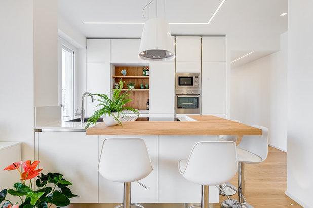 Современный Кухня by EF_Archidesign