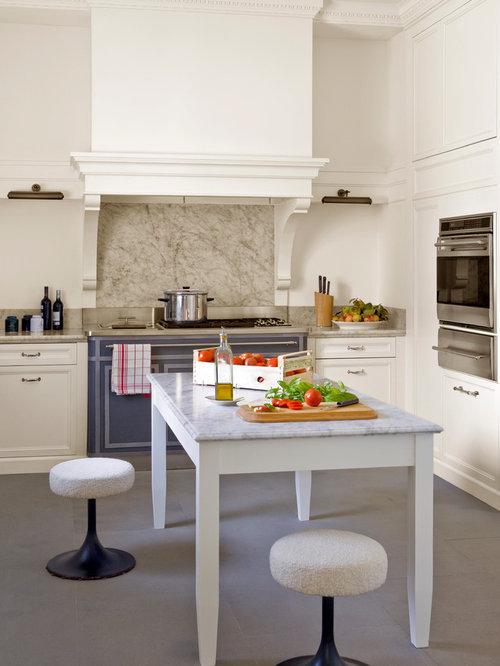 Cucina classica con top in marmo - Foto e Idee per Ristrutturare e ...
