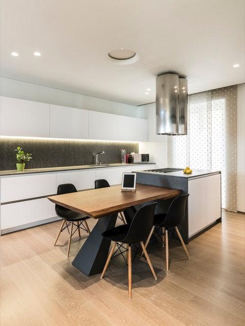Cucina con top in quarzo composito - Foto e Idee per Ristrutturare e ...
