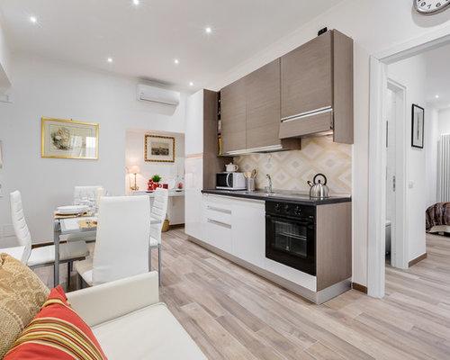 Best small modern kitchen design ideas remodel pictures for Houzz cucine