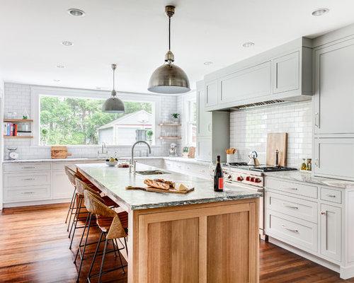 Cucina classica foto idee arredamento - Piastrelle diamantate cucina ...